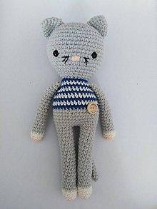 Hračky - Vlnkáči (Mačka v modrom) - 10072844_