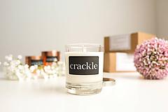 Svietidlá a sviečky - Sójová sviečka - Kamenná soľ s naplaveným drevom - 10071781_