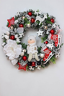 Dekorácie - Veniec vianočný12 - 10073953_