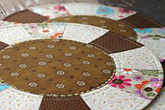 Úžitkový textil - prestieranie v hnedej - 10072562_