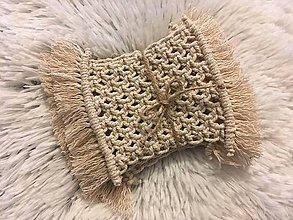 Úžitkový textil - Podložky pod šálky - 10073814_