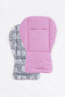 Úžitkový textil - Podložka do kočíka - 10078559_