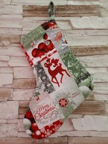 Drobnosti - Mikulášska topánka (Merry Christmas) - 10075585_