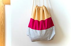 Batohy - uťahovací batoh - 10078290_