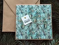Papiernictvo - Vianočná pohľadnica - 10078633_