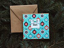Papiernictvo - Vianočná pohľadnica - 10078654_