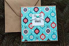 Papiernictvo - Vianočná pohľadnica - 10078655_