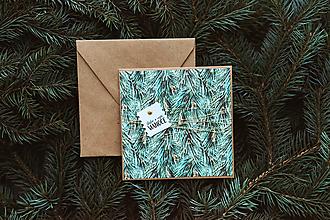 Papiernictvo - Vianočná pohľadnica - 10078632_