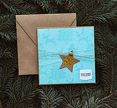 Papiernictvo - Vianočná pohľadnica - 10078639_