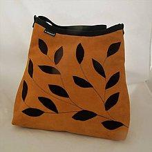 Kabelky - NATURAL BAG - pravá kůže- semiš OKR * PARROT® - 10078930_