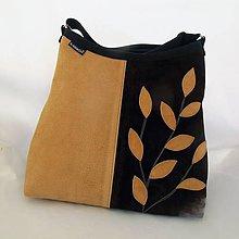 Kabelky - NATURAL BAG - pravá kůže- semiš 50/50 no1* PARROT® - 10079129_