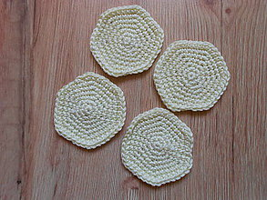 Úžitkový textil - Odličovacie tampóny (Žltá) - 10078653_