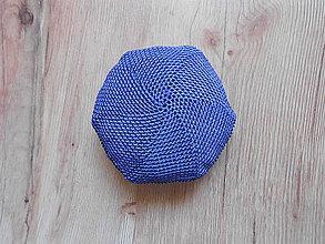 Nákupné tašky - Sieťovka modro čierna - 10078745_