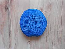 Nákupné tašky - Sieťovka modro čierna - 10078630_