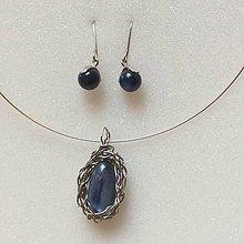 Sady šperkov - sada šperkov s Kyanitom - 10078498_
