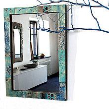 Zrkadlá - Zrkadlo azúrové - 10076030_