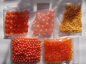 Korálky - korálky (Oranžová) - 10075999_
