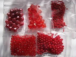 Korálky - korálky (Červená) - 10076000_