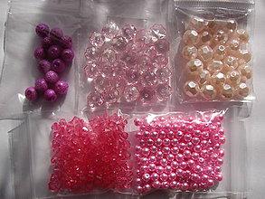 Korálky - korálky (Ružová) - 10076001_
