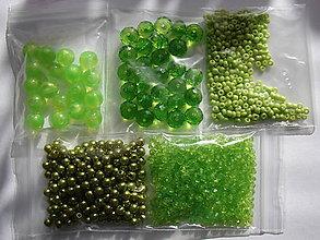 Korálky - korálky (Zelená) - 10076007_