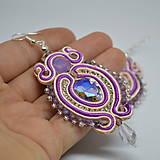 Náušnice - Colorful Crystals n.9 - sutaškové náušnice - 10080022_