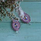 Náušnice - Colorful Crystals n.9 - sutaškové náušnice - 10080024_