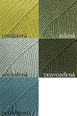 Detské doplnky - Detský pletený šál - sivý - 10079391_