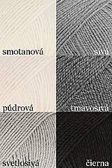 Detské doplnky - Detský pletený šál - sivý - 10079393_