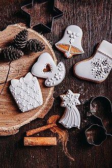 Drobnosti - Vianočné medovníky - 10079927_
