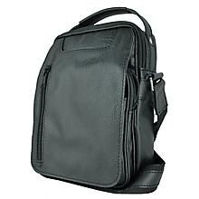Tašky - Luxusná kožená etuja z hovädzej kože, hrúbkovana koža, čierna farba - 10078370_