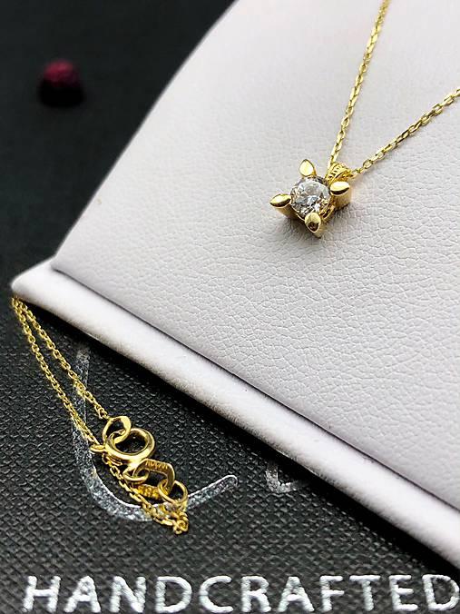 4838c6e66 Zlatá retiazka s príveskom Lilly / GildaBrandy - SAShE.sk - Handmade ...