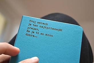 Papiernictvo - Zápisník - Tvoj smiech - 10077769_
