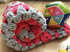 Textil - Deka do kočíka Puffy - Princezná 2 - 10076395_