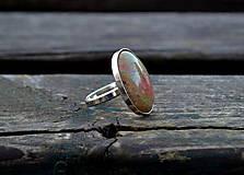 Unakit prsteň Ag 925 /1000