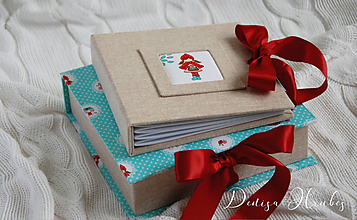 Papiernictvo - Album v krabičke ♥ Karkulka - 10079691_