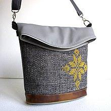 """Veľké tašky - Vyšívaná kabelka """"Pre princeznú Ladu..."""" - 10078888_"""