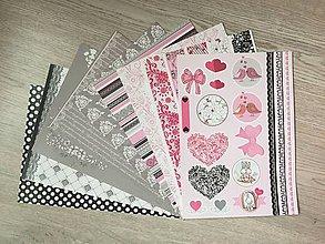 Papier - Sada dizajnérskeho kartonu - 10076145_