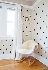 Dekorácie - Nálepky na stenu - Kvapky 152 ks - 10077682_