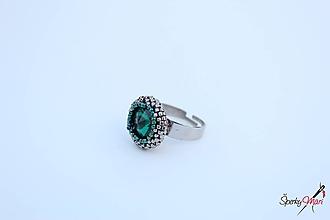 Prstene - prsteň SW emerald - 10084131_