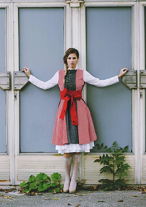 Šaty - Úpletové šaty EVELIN, vel 36 - 10083363_