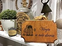 """Tabuľky - Tabuľka na dvere """" Vitajte u nás doma"""" 1 - 10083398_"""
