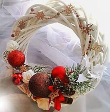 Dekorácie - Vianočný veniec 1 - 10082429_