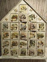 Dekorácie - Adventný kalendár - 10084870_