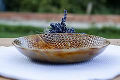 Nádoby - Hlboký tanier - medová kolekcia - 10084686_