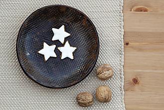 Nádoby - Dezertný tanier - medená kolekcia - 10085230_