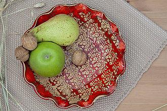 Nádoby - Misa na ovocie - ľudová kolekcia - 10085377_
