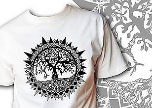 Oblečenie - Pánske tričko - Strom - 10081750_
