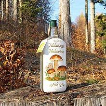 Nádoby - Darčeková fľaša Milanova Hubovica - 10084302_
