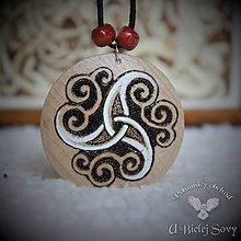 Náhrdelníky - Keltský triskel, amulet - 10082224_
