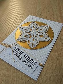 Papiernictvo - Pohľadnica - Vločka - 10081887_